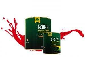 Quality Forest Paint Acrylic 1k Car Paint Transparent Red For Bmw Car for sale