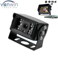 Quality 18 IR lights 24V HD Truck reverse camera with aviation connector , 15M IR distance for sale
