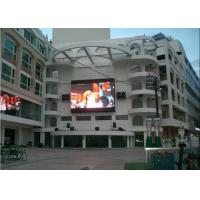 China Commercial LED Electronic Signs Board Full Color 1R1G1B PH12mm on sale