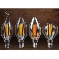 Quality Unique Design Filament Style LED Bulb , Multi Shaped Small Filament Bulb For Housing for sale