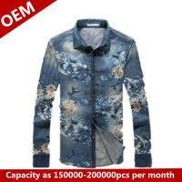 Quality 2014 New Design oxsford silk screen printing shirts for sale