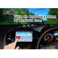 Navigation Android Auto Interface for Focus with Online Map Google Facebood Waze
