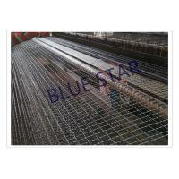 Quality Galvanized / Carbon Steel Wire Mesh Single / Double Intermediate Weave Pattern for sale
