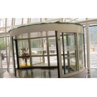 China 2 Wing Stainless steel  frame Automatic Revolving Door for Hotel / Bank / Airport on sale