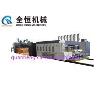 Quality 380V Flexo Printer Slotter Machine Printing Die cutter with folder gluer  Thickness 1200×1800mm for sale