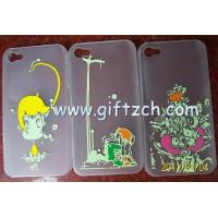 Quality Emboss Carving Engraving Silicone Cell Phone Case Bags for sale