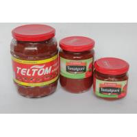 Quality glass jar tomato paste 300g*12 for sale