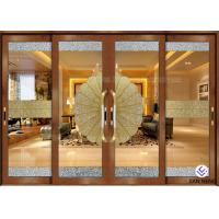 Buy cheap Security Aluminum Window And Door With Double Tempered Glass 4mm from wholesalers