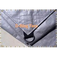 Quality Waterproof D-ring Tie Down PE Material  Tarp Poly Tarp With D-ring for sale