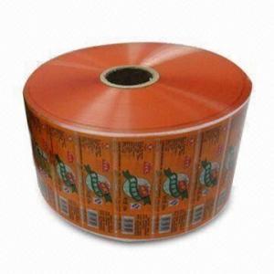 Quality Orange Food Laminating Film Rolls / Laminate film roll 15mm -260mm width for sale