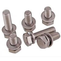 Quality A2-70 Stainless Steel Hex Bolt With Nut And Washer Size M4-M48 DIN933 for sale