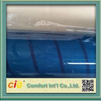 Quality OEM Light Blue Tone PVC Clear Film  Anti Scratch Thickness 0.09 - 0.50mm for sale