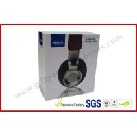 Quality Electronics Packaging paper drawer boxes Printed CardBoard , Sleeve box for Headphone for sale
