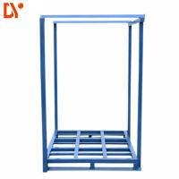 Quality Galvanized Blue Stacking Pallet Racking System Logistics Warehouse Storage for sale
