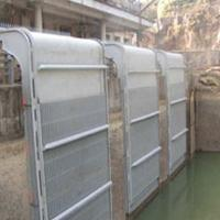 Quality Tilting trash rack for river and lake water cleaness for sale