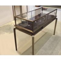Quality Multi Color Glass Jewelry Display Case / Modern Jewelry Showcases Luxury Style for sale