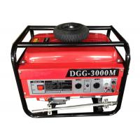 Quality Hand start small portable generators gasoline power 3000w CE certificate for sale