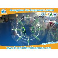 Buy cheap Human TPU / PVC  Inflatable Adults Bubble Ball Durability with lucency for kids product