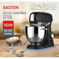 Quality Easten 1000W Household Use ElectricStandMixer/ 4.8L S.S Bowl KitchenStandMixerWith S.S Dough Hook for sale