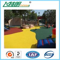 Quality Red Green Yellow Soft Rubber Gym Mats For Sports Floor Durable Wear Resistance for sale