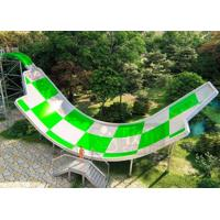 Quality Ashland GelCoat Fiberglass Water Slide 250 Riders / H Capacity 12.3X35M Area for sale