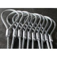 Buy cheap Heavy Duty Machine Swaged Soft Loop Wire Rope Slings with Galvanized Surface product