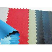 China 100% Polyester microfiber fabric with foam pvc coating on sale