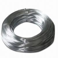 Quality Hot-dipped Galvanized/Electroplating Galvanized Steel Wire for Coil Type, with 15% Elongation for sale