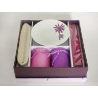 China Romantic Incense Stick Aromatherapy Associates Gift Sets With Ceramic Plate on sale