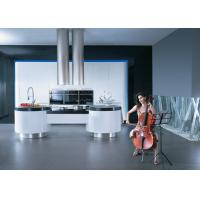 Buy cheap Simple Modern Design Kitchen Cabinets Lacquer Finish With Artificial Stone Top product