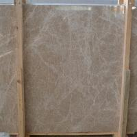 Buy Custom Size Spain Light Emperador Marble Slab , Wall Marble Tile at wholesale prices