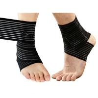Quality Sprain Injury Pain Brace Ankle Support Wrap Gym Sports Basketball Bandage Strap .Elastic material.Customized size. for sale