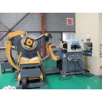 Quality Hydraulic Double Head Material Frame Steel Plate Straightening Machine High Unwinding Speed for sale