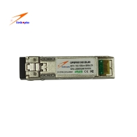 China 10g ZR 80KM 1550nm Optical SFP+ Transceiver Module on sale