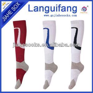 China Customized Football Socks Cotton Soccer Socks on sale