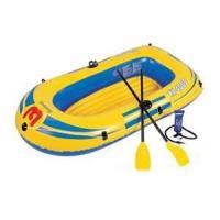 Quality Environment friendly pvc inflatable water boat toys / inflatable floating boat for seaside for sale