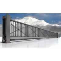 Buy cheap Iron Electric Trackless Automatic Sliding Gates For Workshop Building product