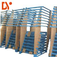 Buy cheap Heavy Duty Portable Stacking Pallet Racks , Steel Warehouse Pallet Racking from wholesalers