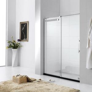 Quality Square Tempered Glass Shower Doors Frameless / Framed Aluminium Alloy Material for sale