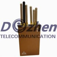 Buy cheap Portable 3G 4G Mobile Phone Gps Jammer , WiFi Bluetooth Gps Jamming Device from wholesalers