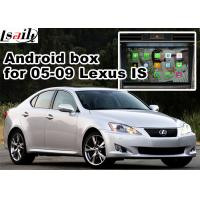 Quality Lexus IS350 IS250 ISF 2005-2009 Multimedia Gps Navigation mirror link video interface rear view for sale