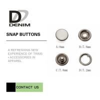 Quality 16L Bulk Pearl Prong Snap Button • Decorative Snaps • Pearl Snaps for sale