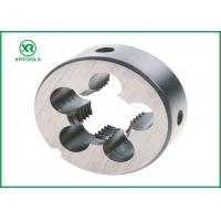 Quality NPT HSS Thread Cutting Dies With White Finished Round Shape ISO4230 Approval for sale