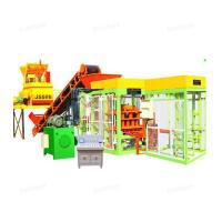 Quality QTJ4 -15 Hydraulic Automatic Cement Brick Making Machine With Long Life for sale