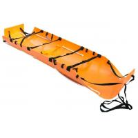 China Troll Roll Up Emergency Stretcher Trolley , Rescue Stretcher Types Multifunction on sale