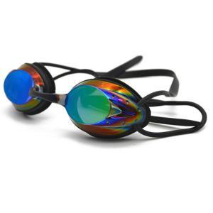 Quality Corrective Waterproof Swim Goggles, Womens Professional Swimming Glasses Anti Fog for sale