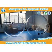 Buy cheap Summer water games PVC / TPU Inflatable Water Zorb Ball with Customized Color / Size product