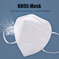 Quality KN95 Dustproof Anti-fog And Breathable Face Masks 95% Filtration Mouth Masks 3-Layer Mouth Muffle Cover for sale