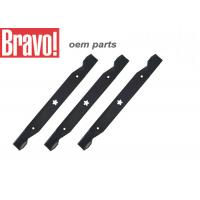 Quality Black Lawn And Garden Equipment Parts Steel Lawn Mower Blades Replacement for sale
