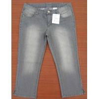 China Brazil excess clothing -3600PCS Girl's Three quarter Capris Jeans boots pants inventory on sale